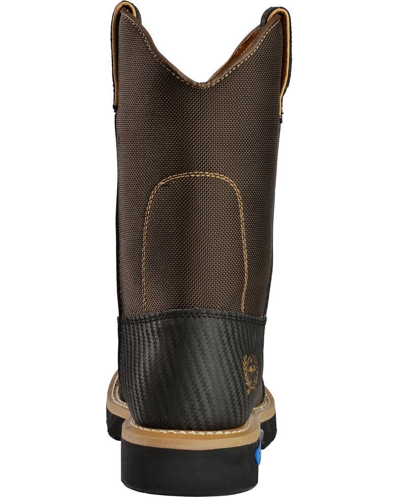Cinch Men's WRX CT SafetyToe Work Boots, Brown, hi-res