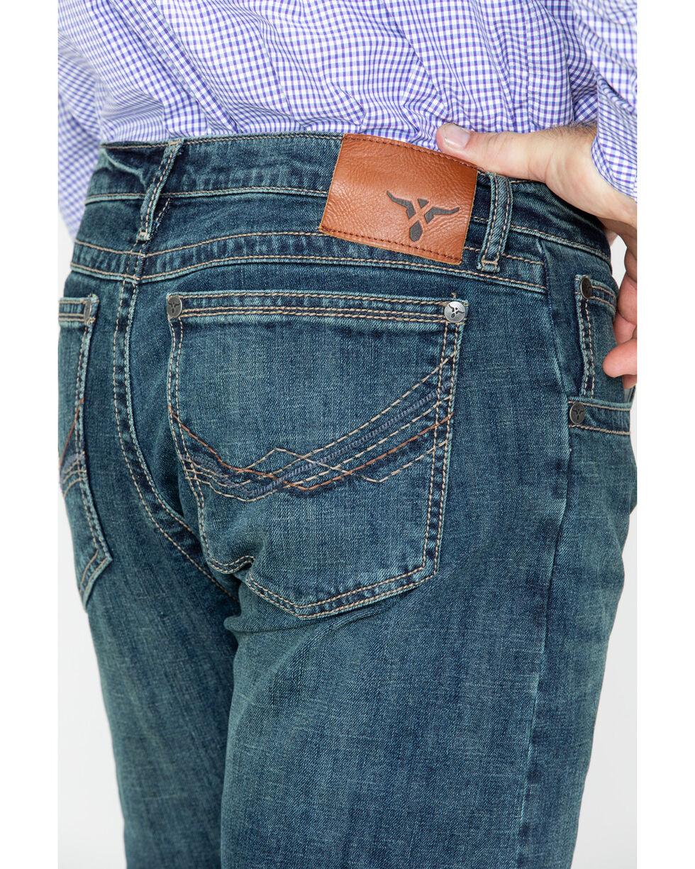 Wrangler Men's No.44 Slim Straight Leg McAllen Jeans, Blue, hi-res