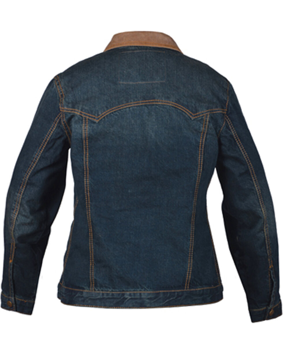 STS Ranchwear By Carroll Women's Ladies Denim Jumper Jacket , Blue, hi-res