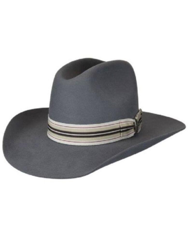 Bailey Grey Renegade Bent Bronc Wool Felt Western Hat , Grey, hi-res