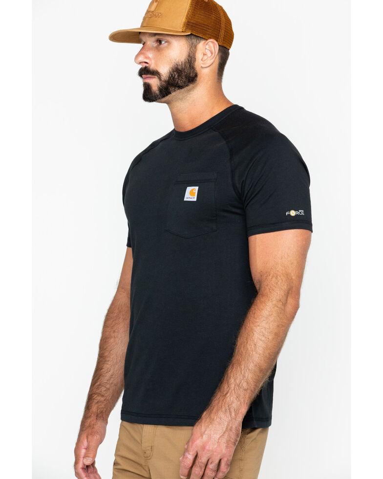 Carhartt Men's Short Sleeve Force T-Shirt, Black, hi-res