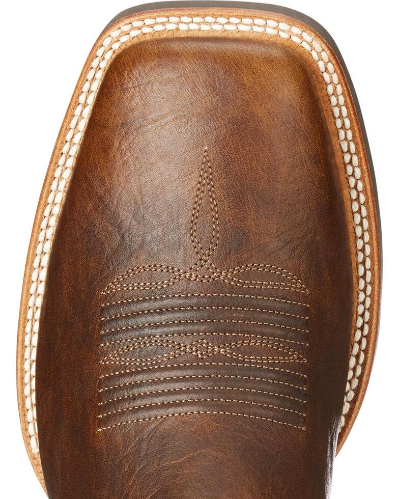 Ariat Men's Catalyst Plus Bar Top Cowboy Boots - Square Toe, Brown, hi-res