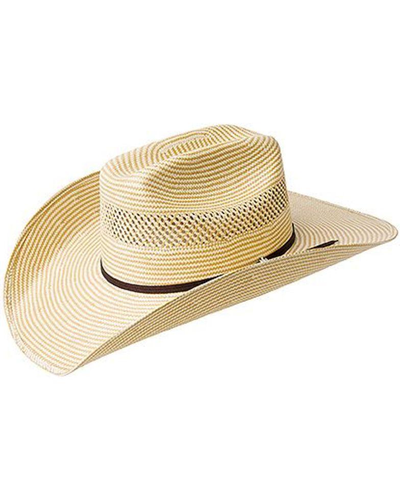 Bailey Cassius 7X Straw Cowboy Hat, Natural, hi-res