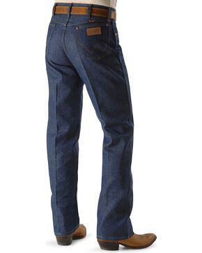 "Wrangler Men's Original Fit Rigid Jeans - 38"" & 40"" Tall Inseams, Indigo, hi-res"