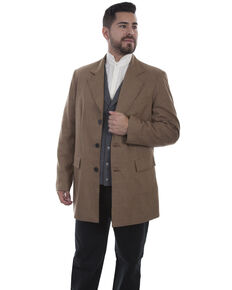 Scully Men's Tan Town Coat, Tan, hi-res
