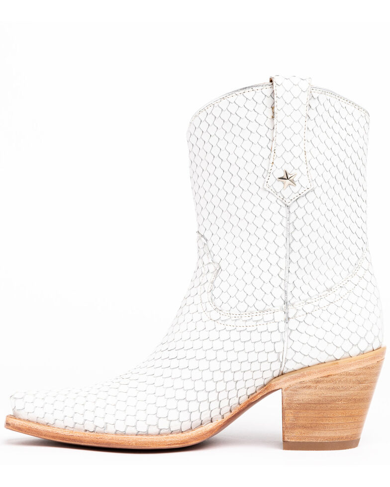 Idyllwind Women's Snake My Way Western Boots, White, hi-res
