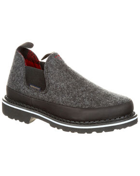 Georgia Boot Youth Boys' Pendleton Romeo Shoes - Round Toe, Slate, hi-res