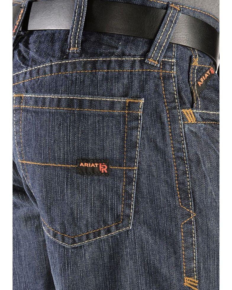 Ariat Men's Shale Fire Resistant Work Jeans, Denim, hi-res