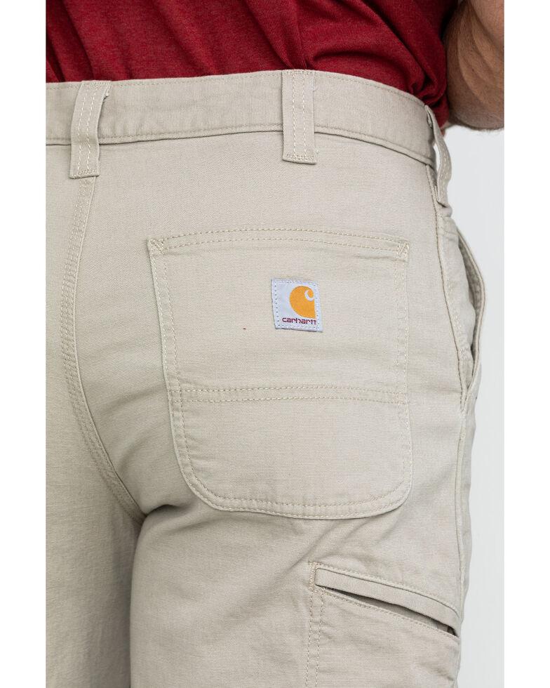 "Carhartt Men's 10"" Rugged Flex Rigby Work Shorts , Tan, hi-res"