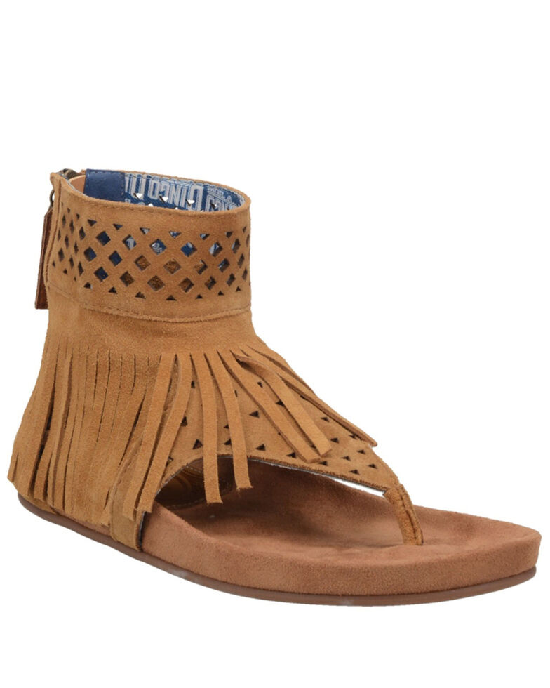 Dingo Women's Heat Wave Slippers, Camel, hi-res