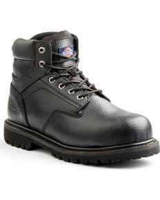 Dickies Men's Black Prowler Work Boots - Steel Toe, Black, hi-res