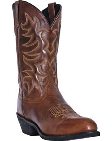 Laredo Men's Pinehurst Western Boots, Brown, hi-res