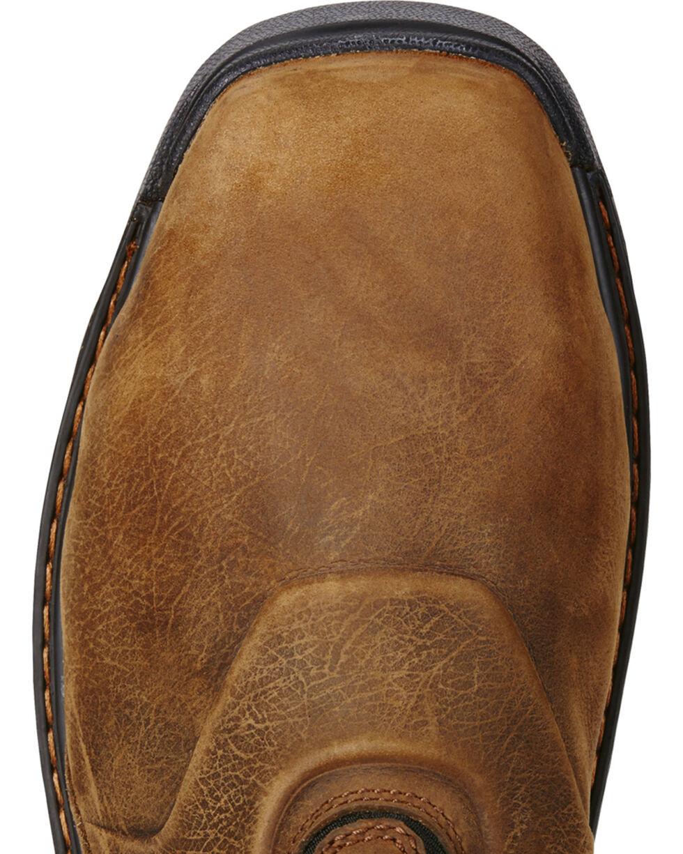 Ariat Men's Intrepid Waterproof Work Boots, Brown, hi-res