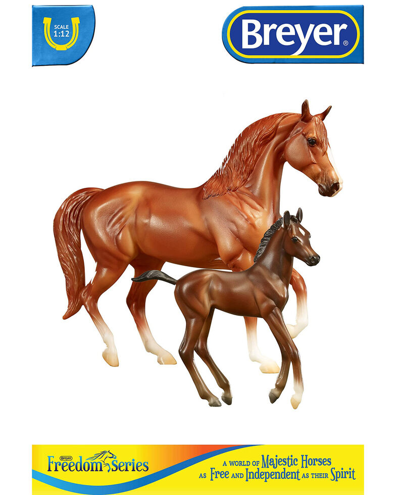 Breyer Smooth Rider Horse & Foal, No Color, hi-res