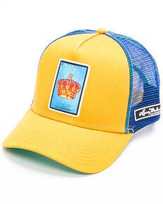 Larry Mahan Men's La Corona Patch Cap , Yellow, hi-res