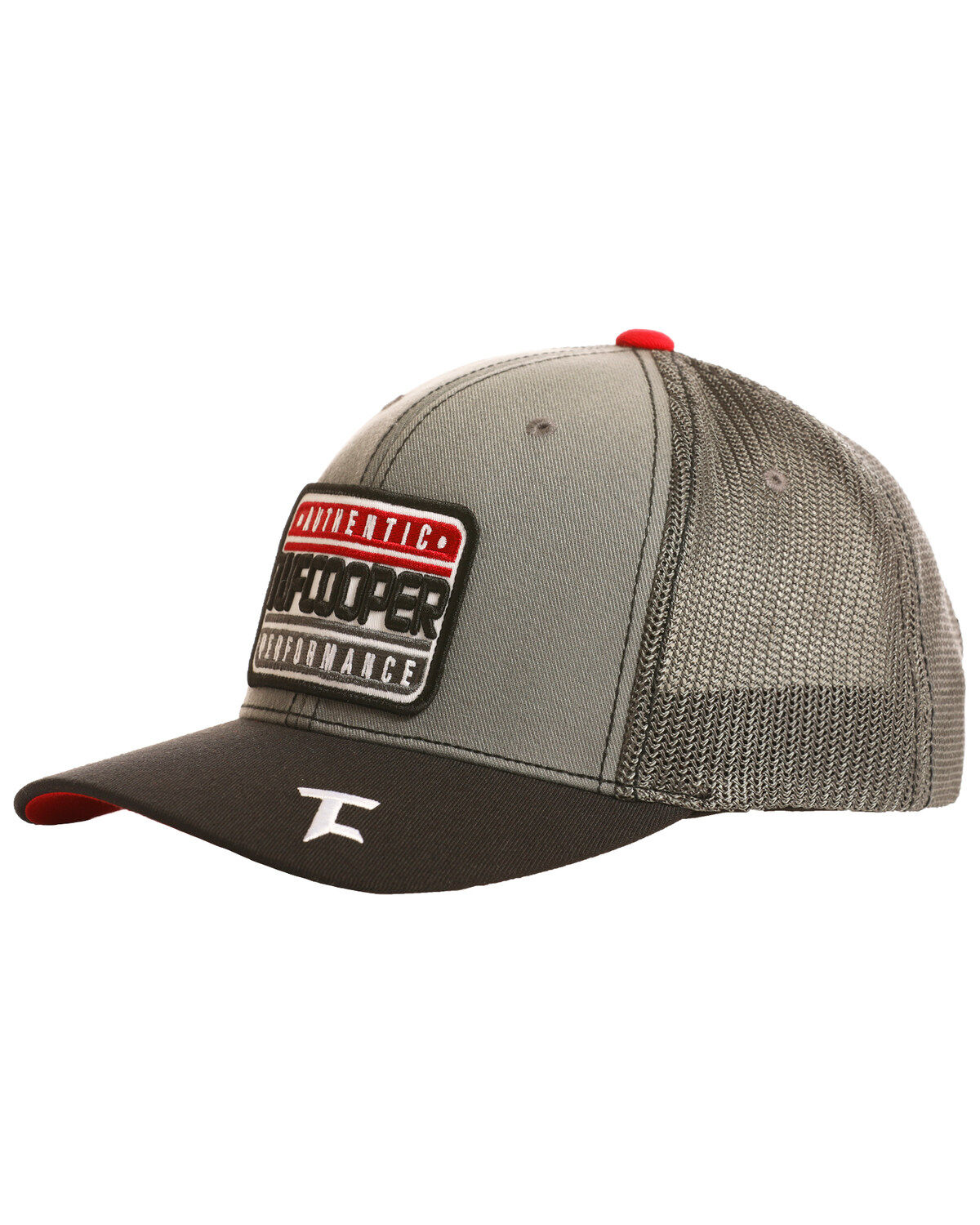 detailed pictures 573d5 1b1fa ... usa tuf cooper mens performance patch mesh ball cap ab643 77227