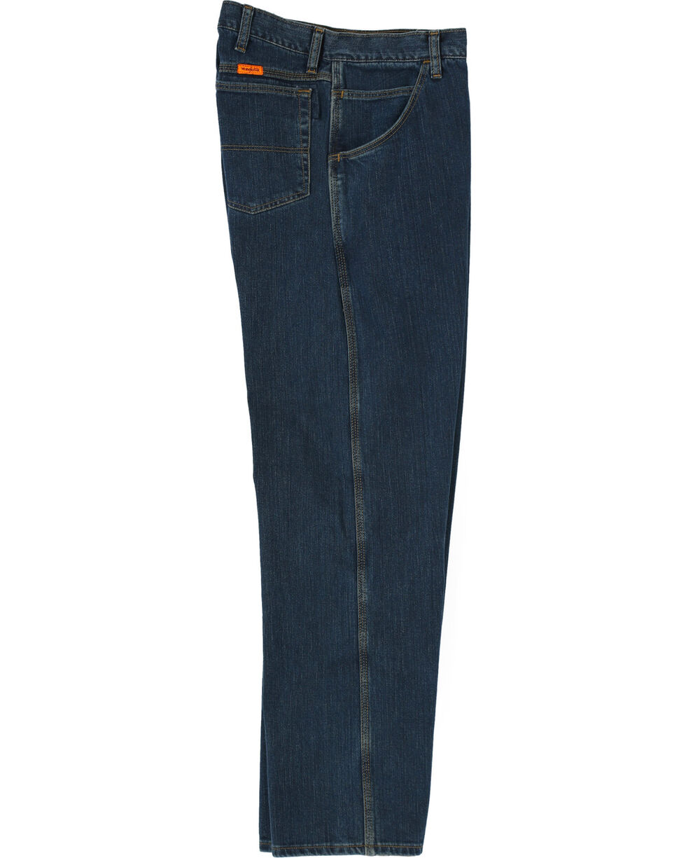 Wrangler Men's Flame Resistant Advanced Comfort Jeans, Midstone, hi-res