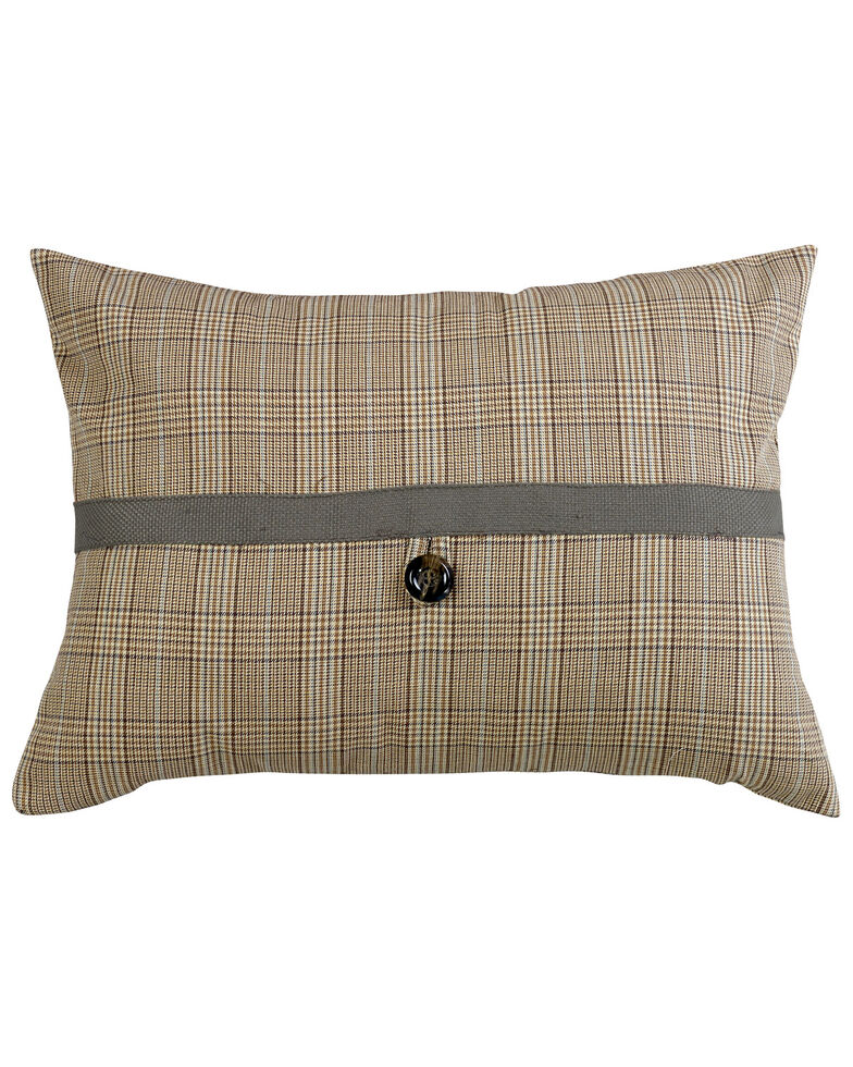 HiEnd Accents Plaid Pillow, Multi, hi-res
