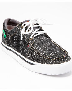 Twisted X Men's ECO Casual Athletic Shoes - Moc Toe, Black/white, hi-res