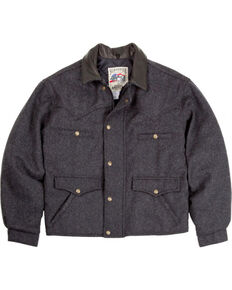 Schaefer Men's 570 Summit Wool Jacket, Dark Grey, hi-res