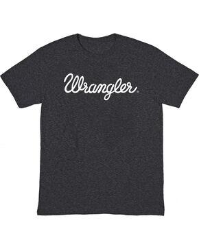 Wrangler Men's Logo Short Sleeve T-Shirt, Black, hi-res
