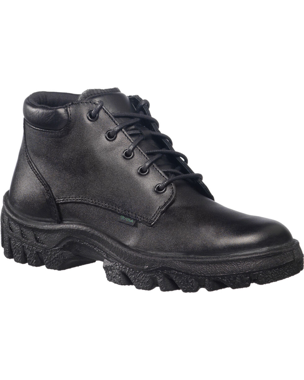Rocky Women's TMC Postal Approved Chukka Military Boots, Black, hi-res