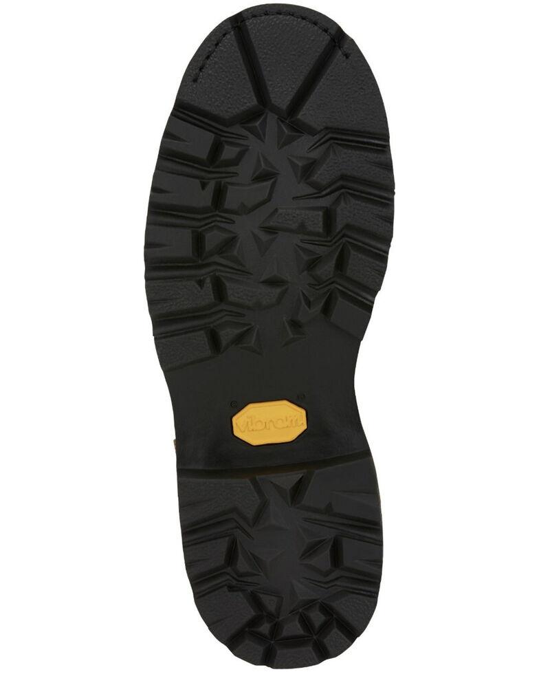 Chippewa Men's Waterproof Work Boots - Steel Toe, Brown, hi-res
