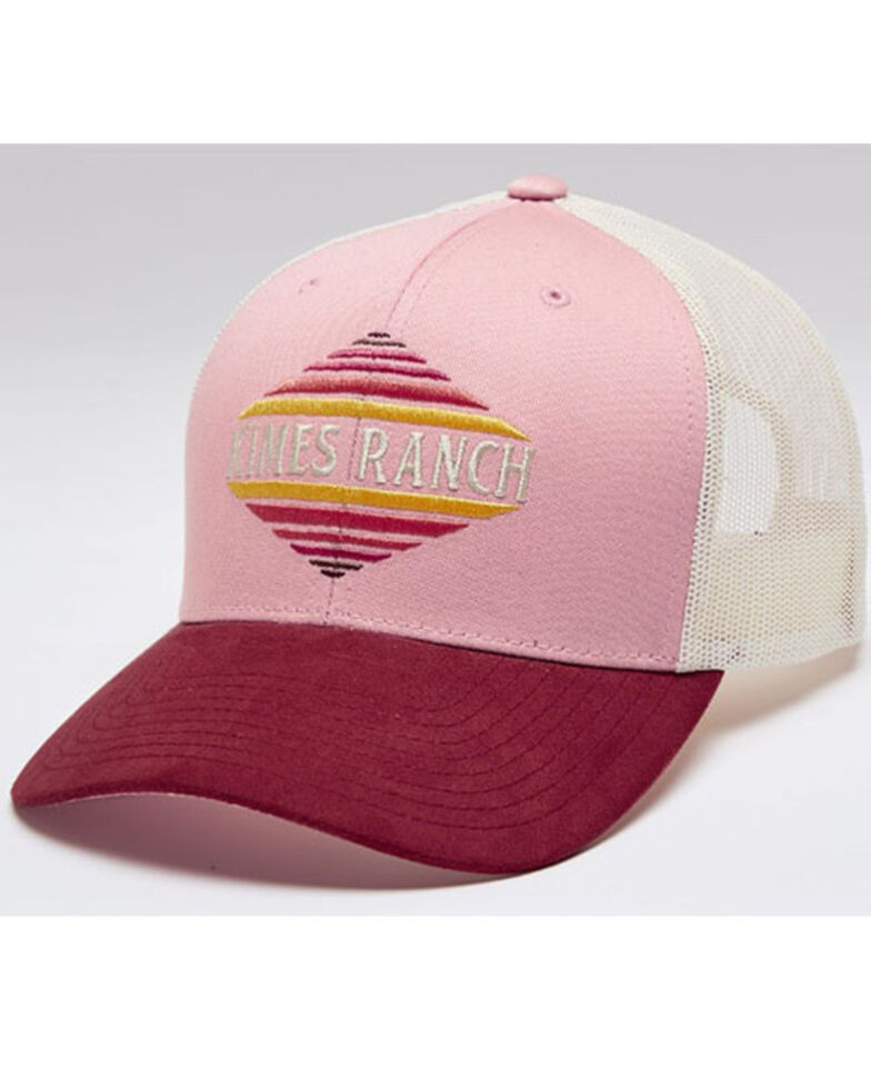 Kimes Ranch Women's Blush El Paso Logo Embroidered Mesh-Back Trucker Cap , Blush, hi-res
