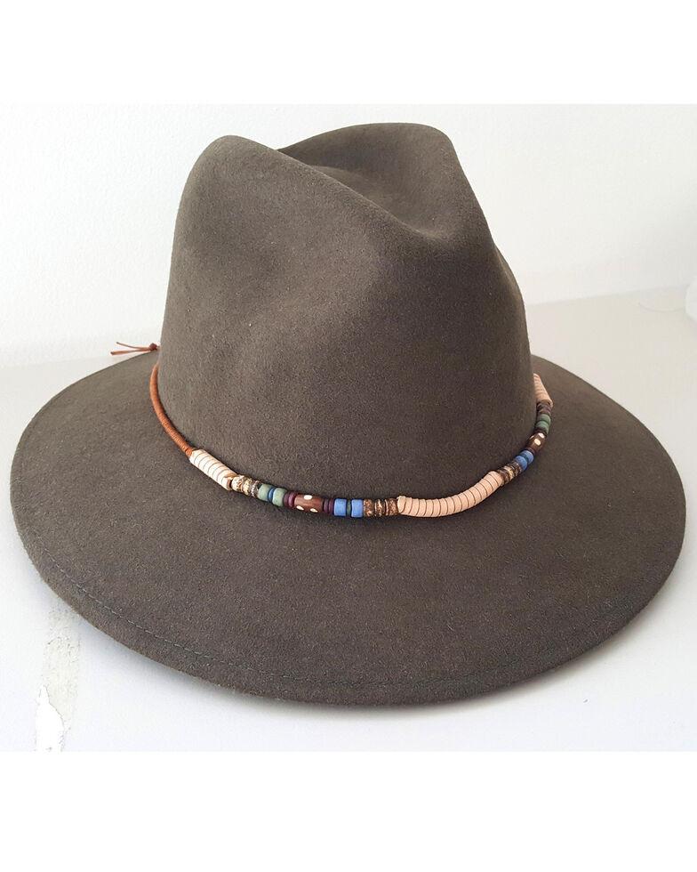 'ale by Alessandra Women's Moss Denali Short Brim Hat, Moss Green, hi-res