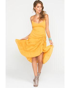 Sage the Label Women's Yellow Rio Dress , Yellow, hi-res
