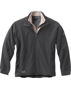 Dri Duck Men's Baseline Softshell Jacket, Dark Grey, hi-res