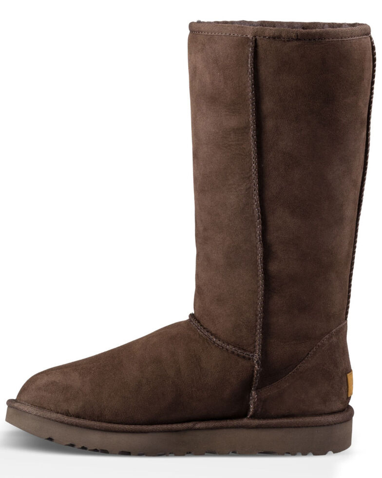 UGG Women's Classic Tall Boots, Chocolate, hi-res