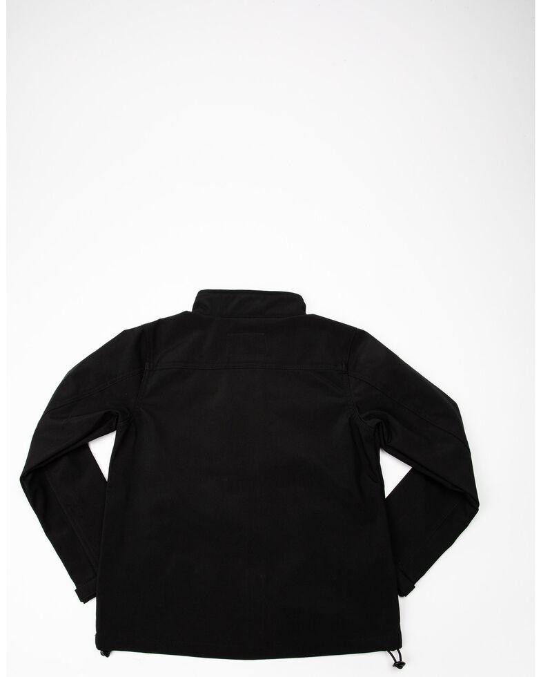 Cody James Boys' Poly Zip Steamboat Soft Shell Jacket , Black, hi-res