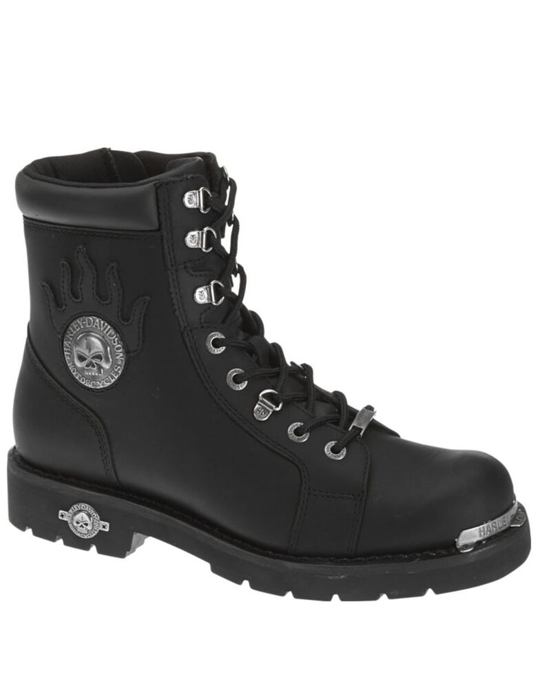 Harley-Davidson Men's Diversion Motorcycle boots, Black, hi-res
