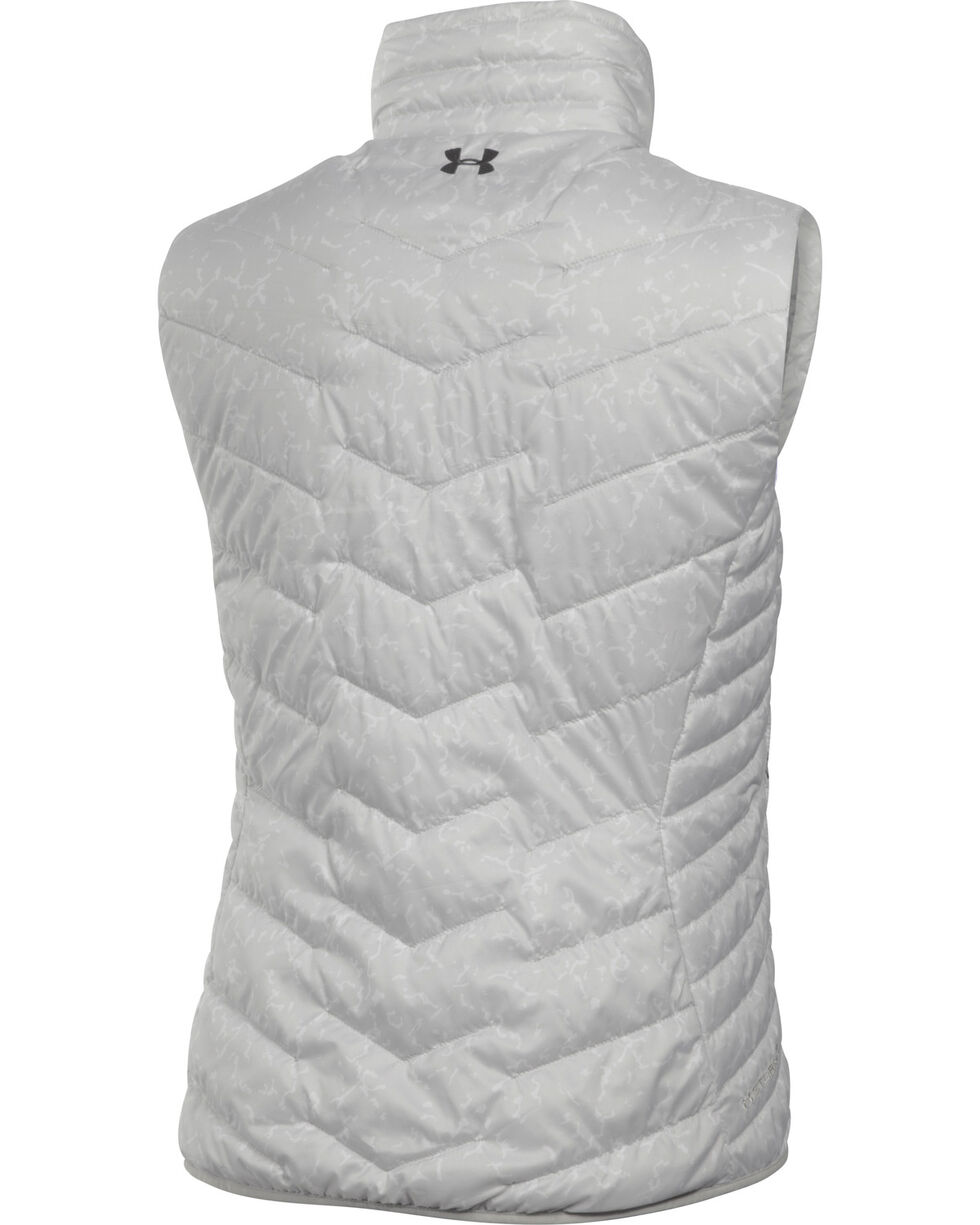 Under Armour Women's UA ColdGear Reactor Vest, Grey, hi-res