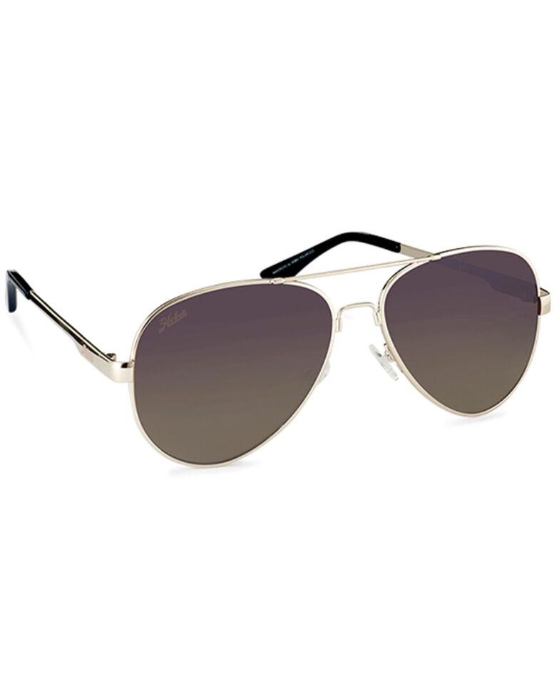 Hobie Men's Mavericks Shiny Gold & Copper Polarized Sunglasses , Gold, hi-res