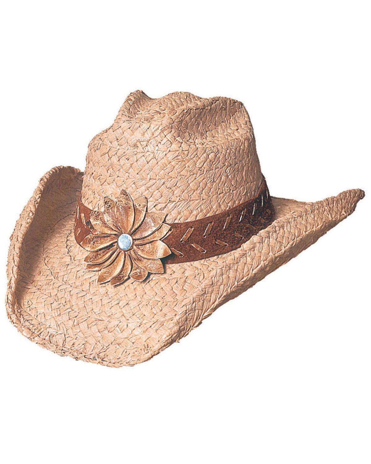 Easter Bonnet Boys Girls Cowboy Hat Made Natural Straw Style Decorate Children