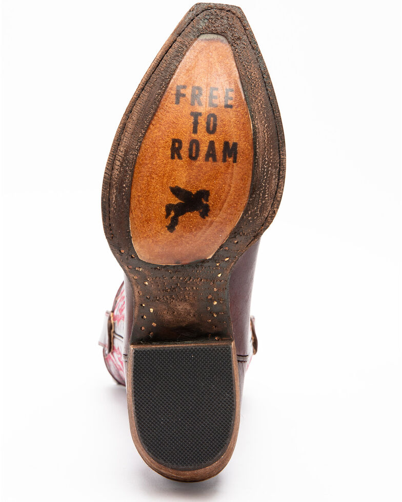 Idyllwind Women's Roanoke Performance Western Boots - Snip Toe, Dark Red, hi-res