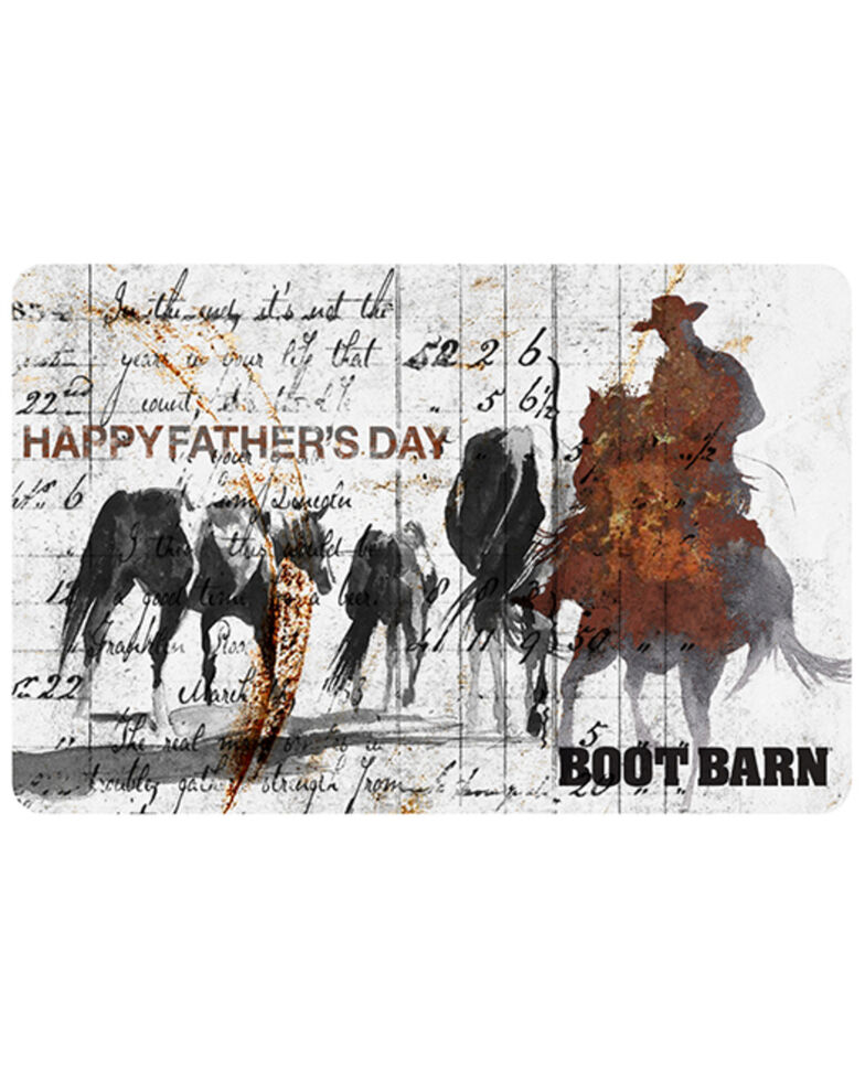 BootBarn FATHERS DAY LETTER Gift Card 2021, No Color, hi-res