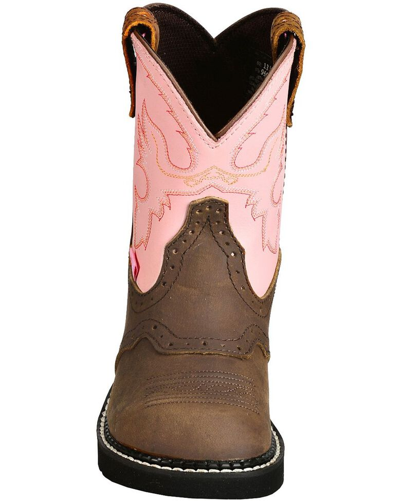 """Justin Children's Gypsy Cowgirl 6"""" Boots, Bay Apache, hi-res"""