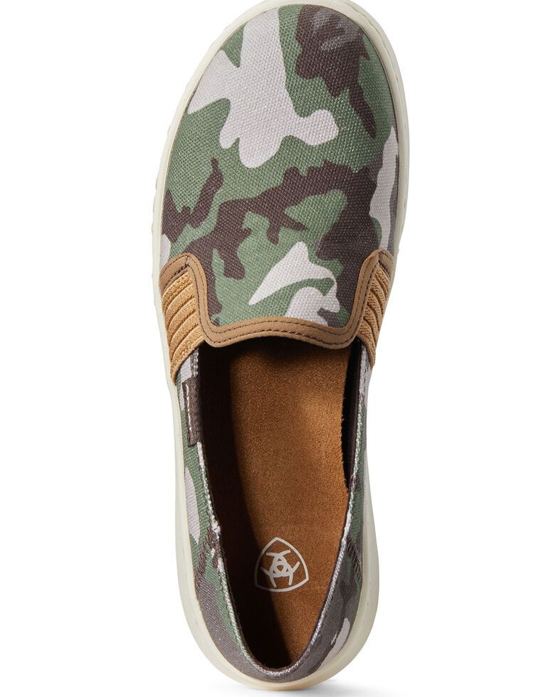 Ariat Women's Ryder Camo Print Slip-On Shoes, , hi-res