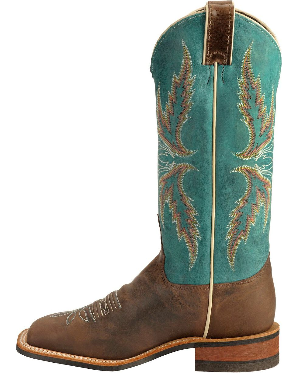 Justin Women's Bent Rail Western Boots, Chocolate, hi-res