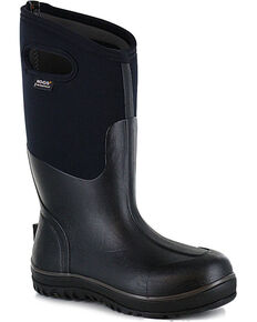 BOGS Footwear Men's Classic Ultra High Insulated Boots, Black, hi-res