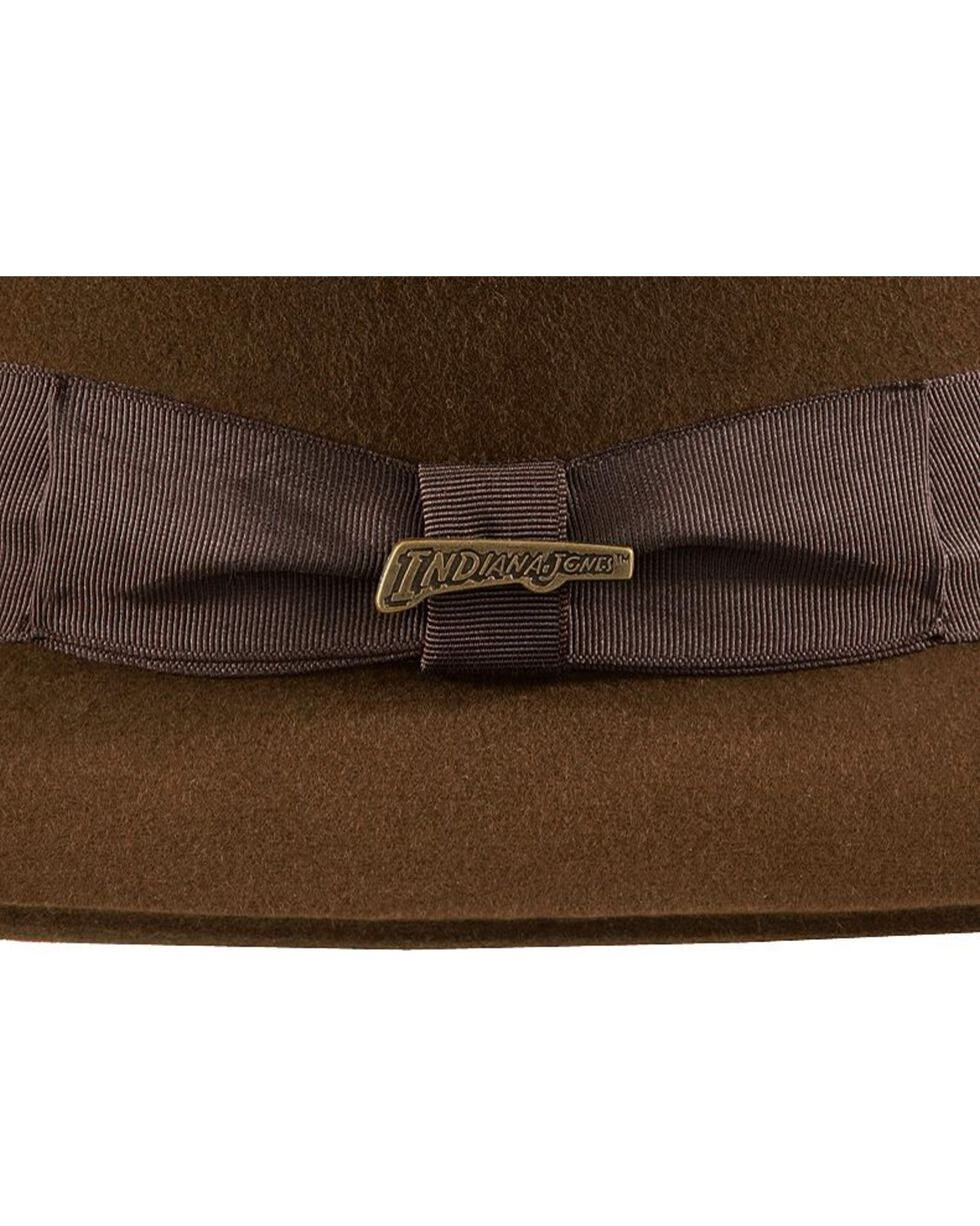 Indiana Jones Fur Felt Fedora Hat, Brown, hi-res