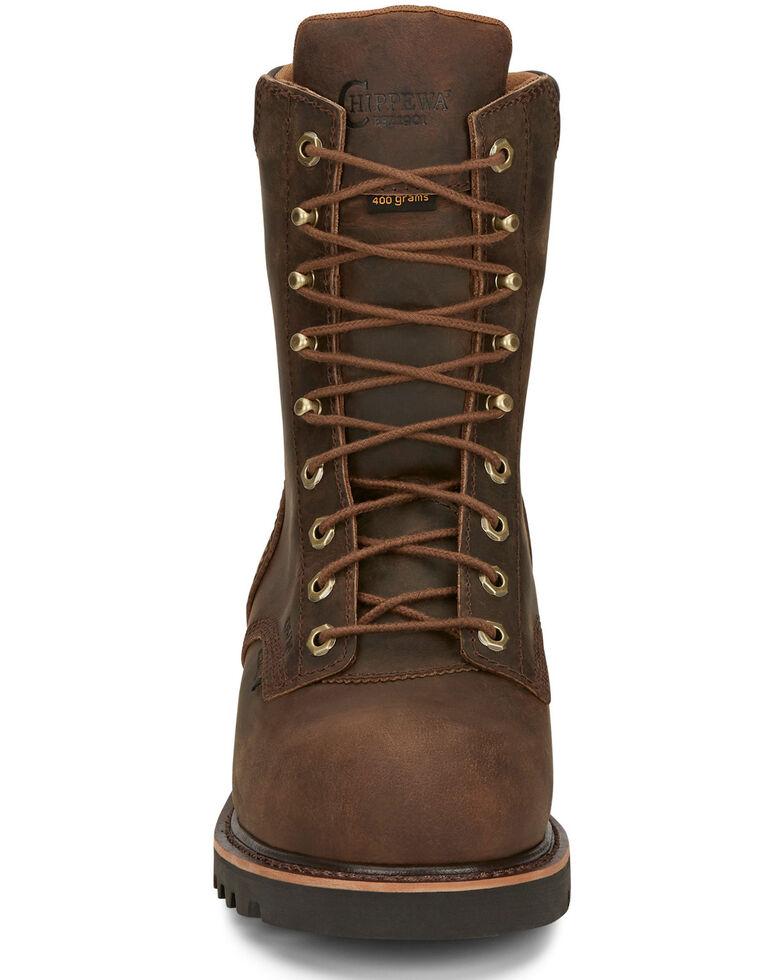 Chippewa Men's Valdor Work Boots - Composite Toe, Brown, hi-res
