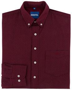 08fa62a6 Resistol Men's Maury Geo Print Long Sleeve Western Shirt