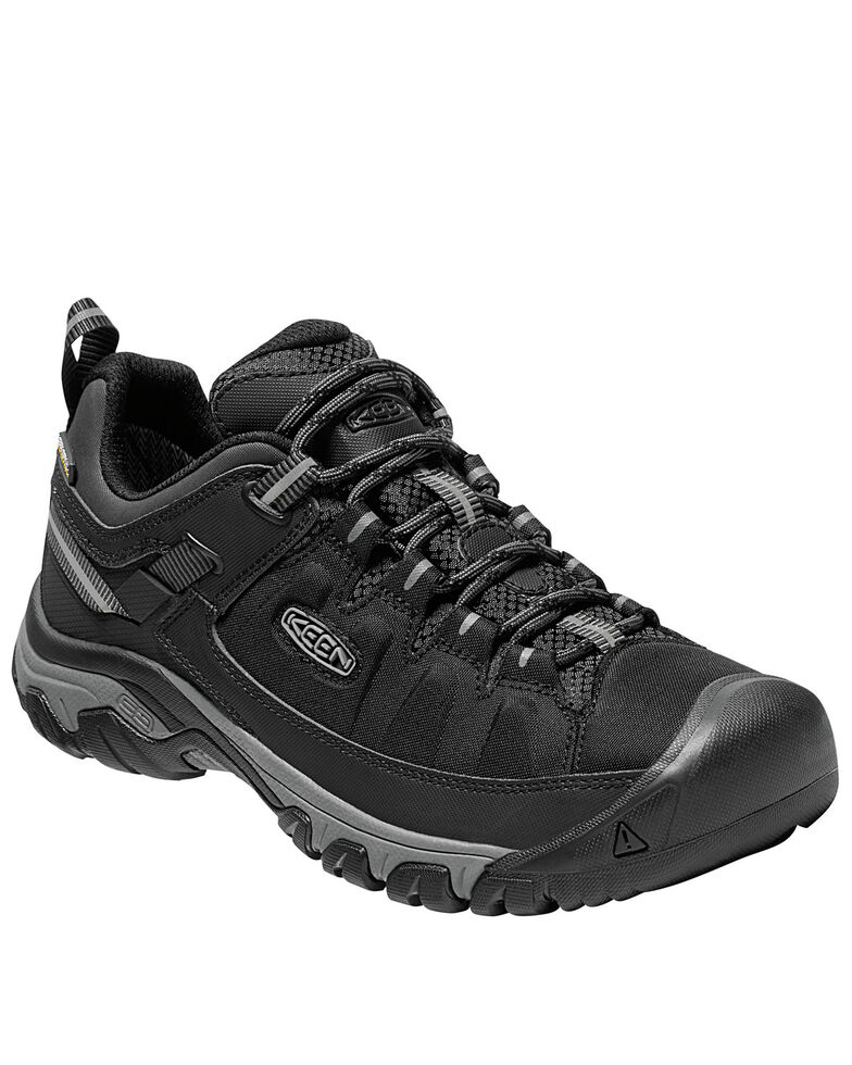Keen Men's Targhee Waterproof Work Boots - Soft Toe, Black, hi-res