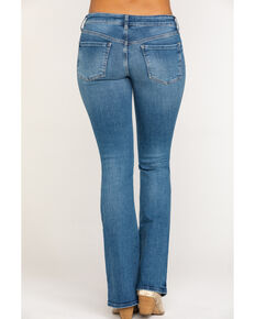 Free People Women's Heirloom Bootcut Jeans , Blue, hi-res