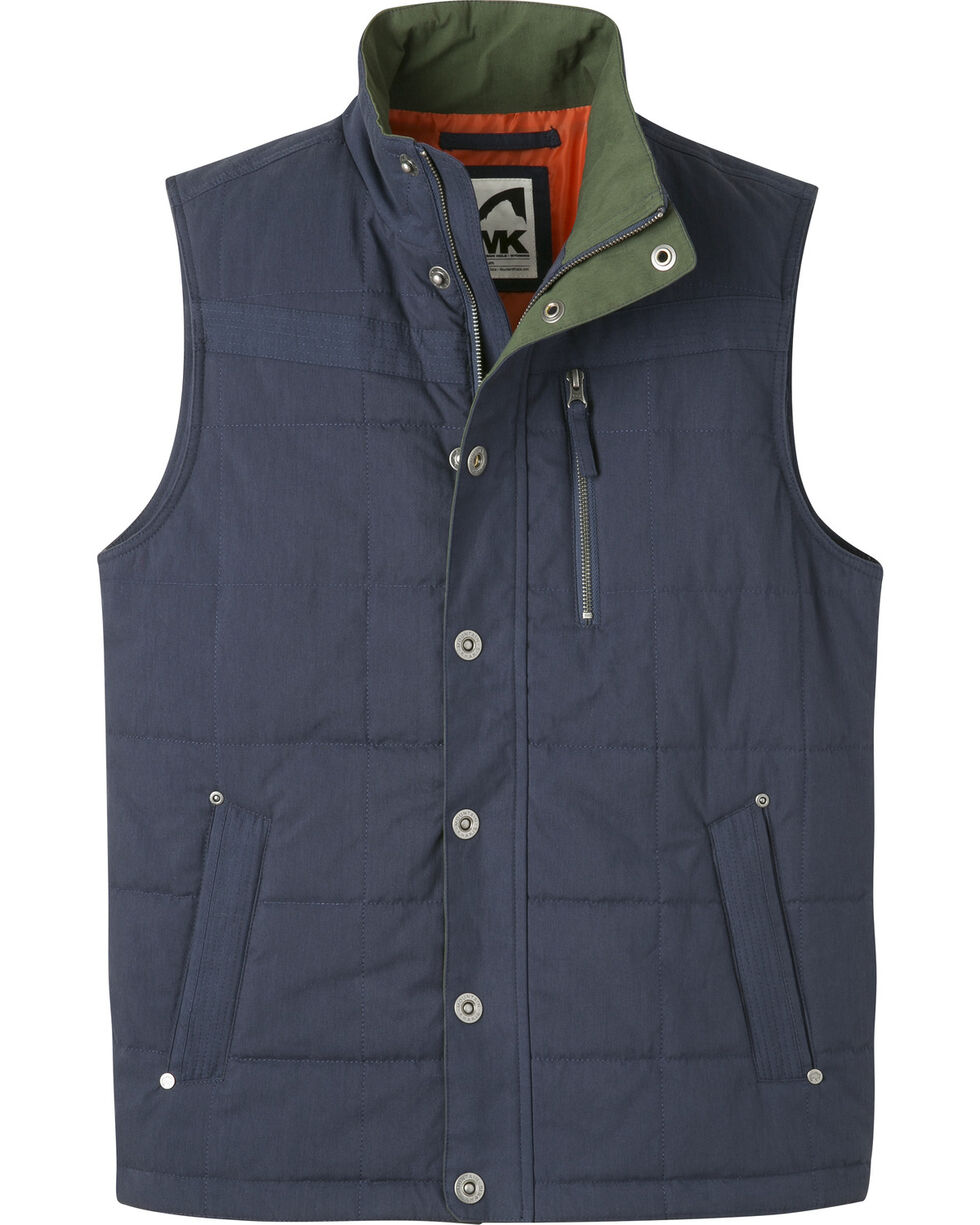 Mountain Khakis Men's Swagger Vest, Navy, hi-res