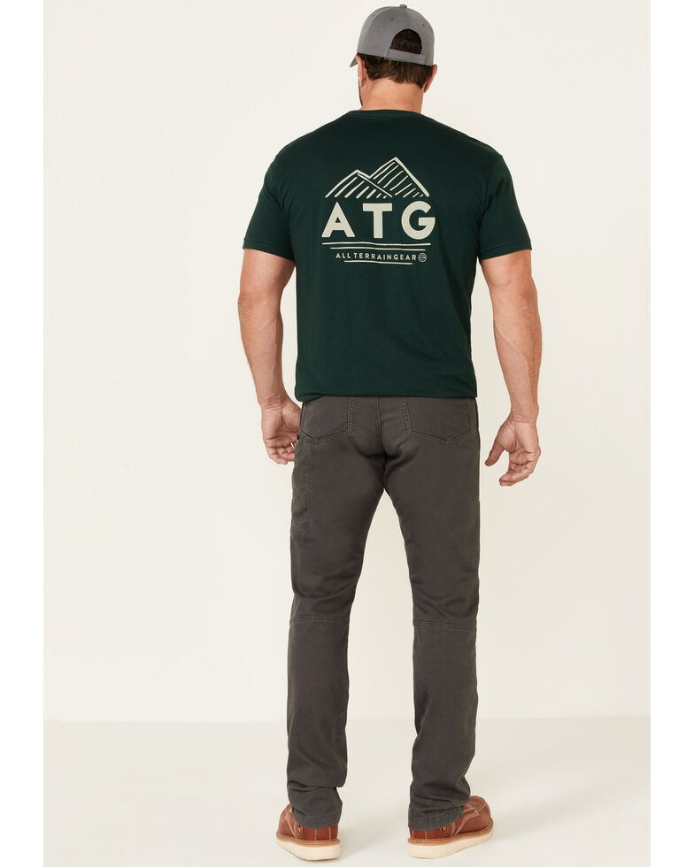 ATG™ by Wrangler Men's All-Terrain Grey Reinforced Utility Pants , Grey, hi-res